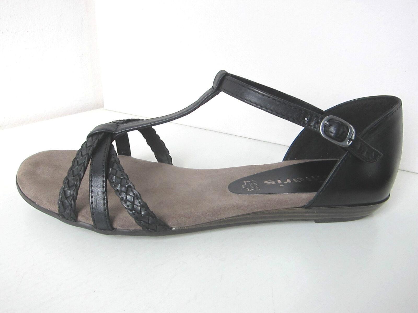 Tamaris Riemchen Sandalee Verbena Gr. 38 schwarz schwarz Sandaleette
