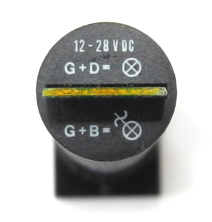 "ES New EAO 01-123.025 Rectangular 3-Gang 5//8/"" Momentary Illuminated Switch"