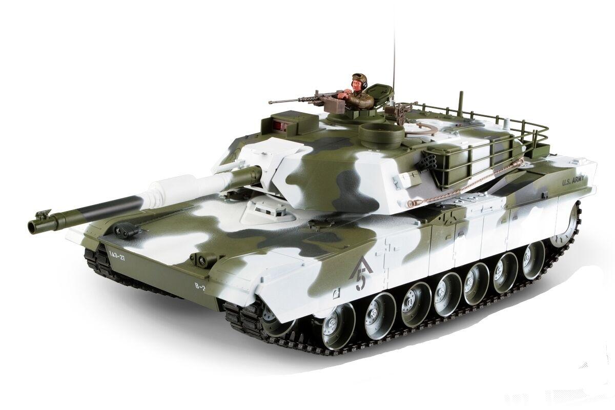 Gree scala RC M1A1 Abrams Tank WINTER edizione aggiornato Premium  Label versione -  vendita calda online