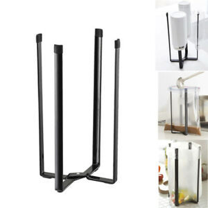 Home-Tower-Kitchen-Multifunction-Stand-Plastic-Bag-Holder-Cup-Bottle-Drain-Rack