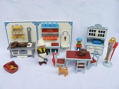 küche 5322 playmobil nostalgie rosa serie puppenhaus 1989