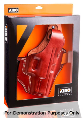 KIRO Thumb Break Leather Holster for Glock 17 22 /& 31 The TB Casual