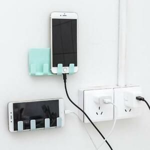1pc Mobile Phone Holder Wall Phone Mount Charging Holder