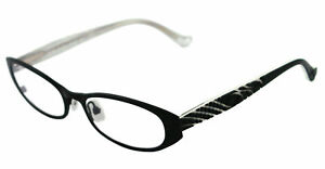 NEW-Cynthia-Rowley-Eyeglasses-CR-0341-BLACK-CR0341-50mm