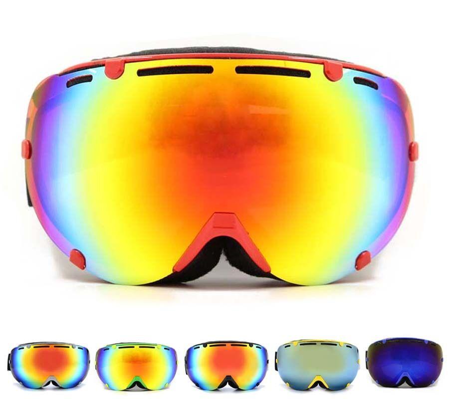 c89aa97cdd Ski Goggles Men UV400 Anti-burst Anti-fog Spherical Snowboard Glasses Women  for nubhmr3882-Goggles   Sunglasses