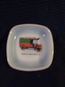 Coppa Svuotatasche IN Vetro Opale Opalina Pubblicità Opalex Berliet Camion