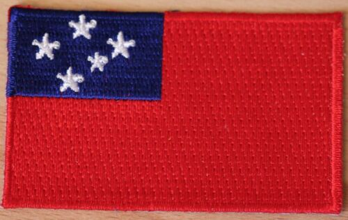WESTERN SAMOA Flag Embroidered PATCH Badge