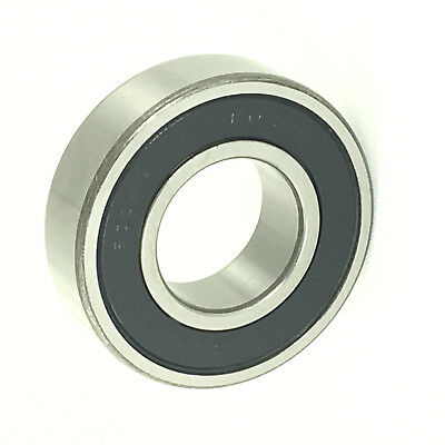6004-2RS SKF Brand rubber seals bearing 6004-rs ball bearings 6004 RS1 Qty 10