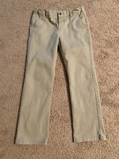 Boys Chaps $40 Uniform//Casual Khaki or Navy Wicking Pants Husky Size 12H 18H
