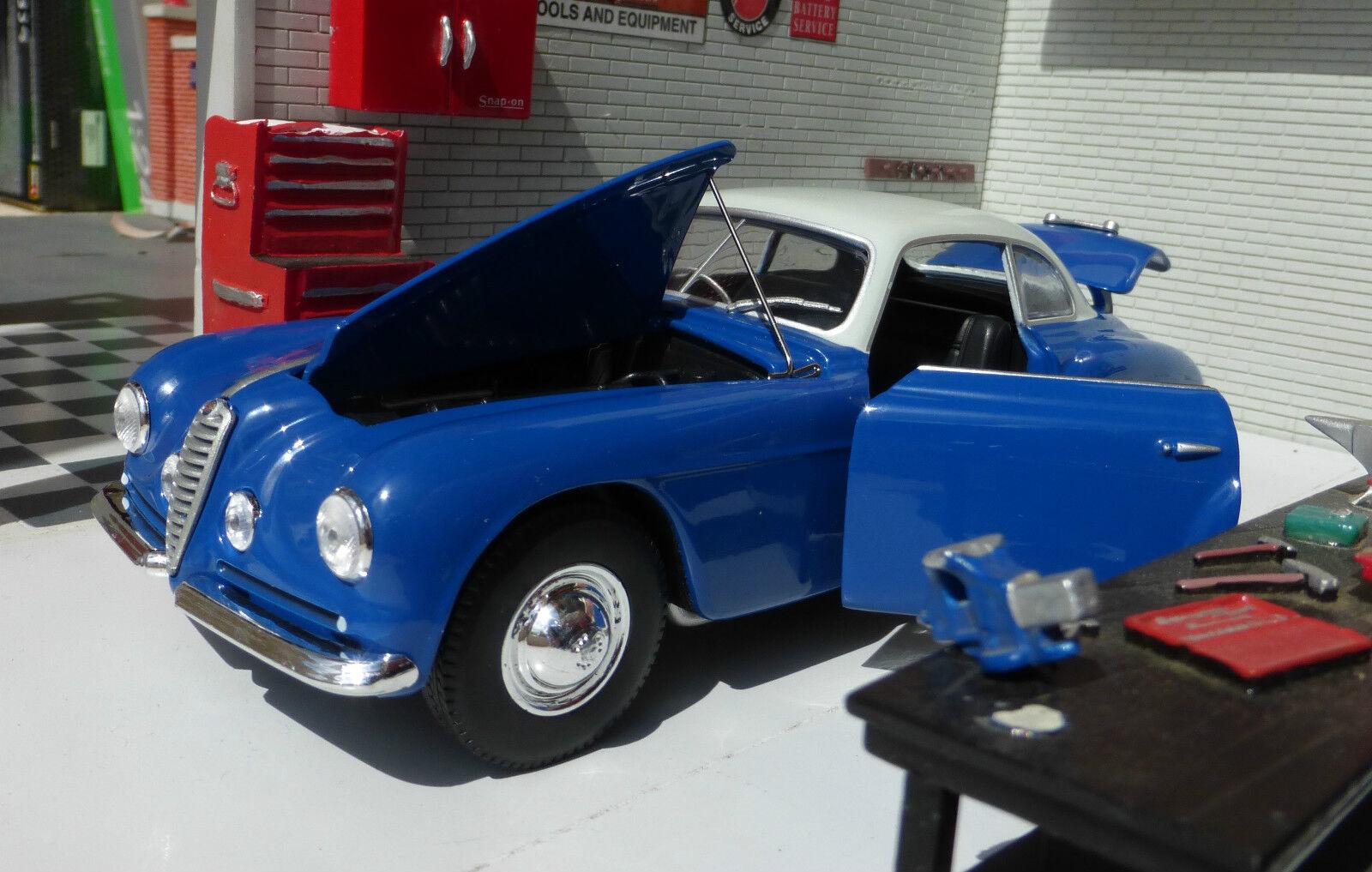 G 24 skala alfa romeo 6c 2500 lsb 1949 blaue Weißbox druckguss detaillierte modell
