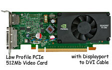 nVidia Quadro FX 380 Video Graphics Card 512MB PCI-Express x16 LOW PROFILE