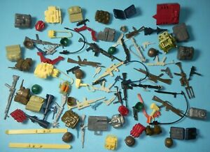 Lot-GI-Joe-Cobra-1980s-Figure-Weapons-Guns-Backpacks-Battle-Gear-Accessory-Pack