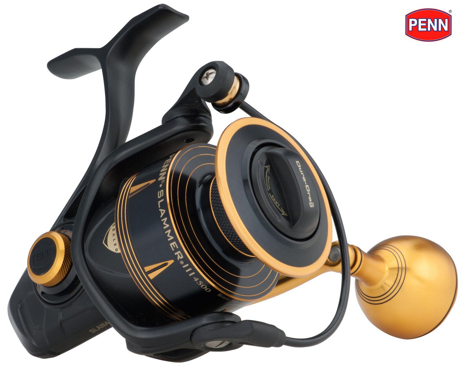 New PENN  Slammer III Mk3 Saltwater Spinning Reels - All Models Available  new style