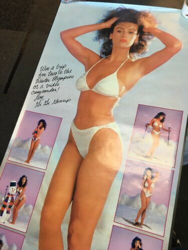 1987 Diet Coke Take Your Best Shot 54x24 ORIGINAL Vintage Advertisement L1