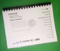 Laser Printed Fujifilm S1 Finepix Camera 152 Page Owners Manual Guide
