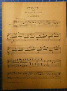 Parsifal-von-Richard-Wagner-1-Vorspiel-1914-Verlag-Ullstein-Berlin-H8213