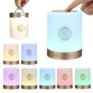Protable-Bluetooth-Quran-Speaker-Coran-Player-Smart-Touch-LED-Lamp-Light-Remote