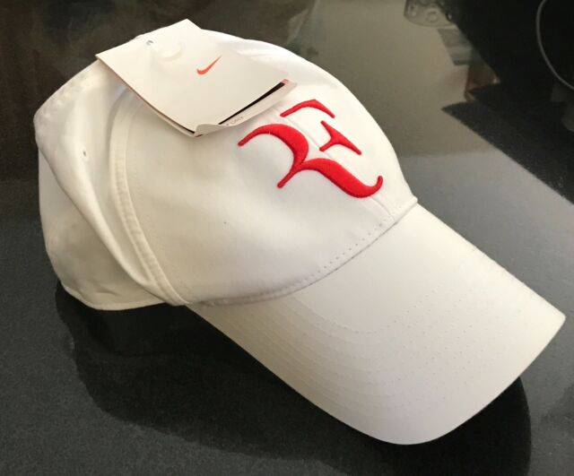 db2745eac30 Buy Nike RF Federer Dri Fit Tennis Cap 2009 Hat White-red 327906-110 ...