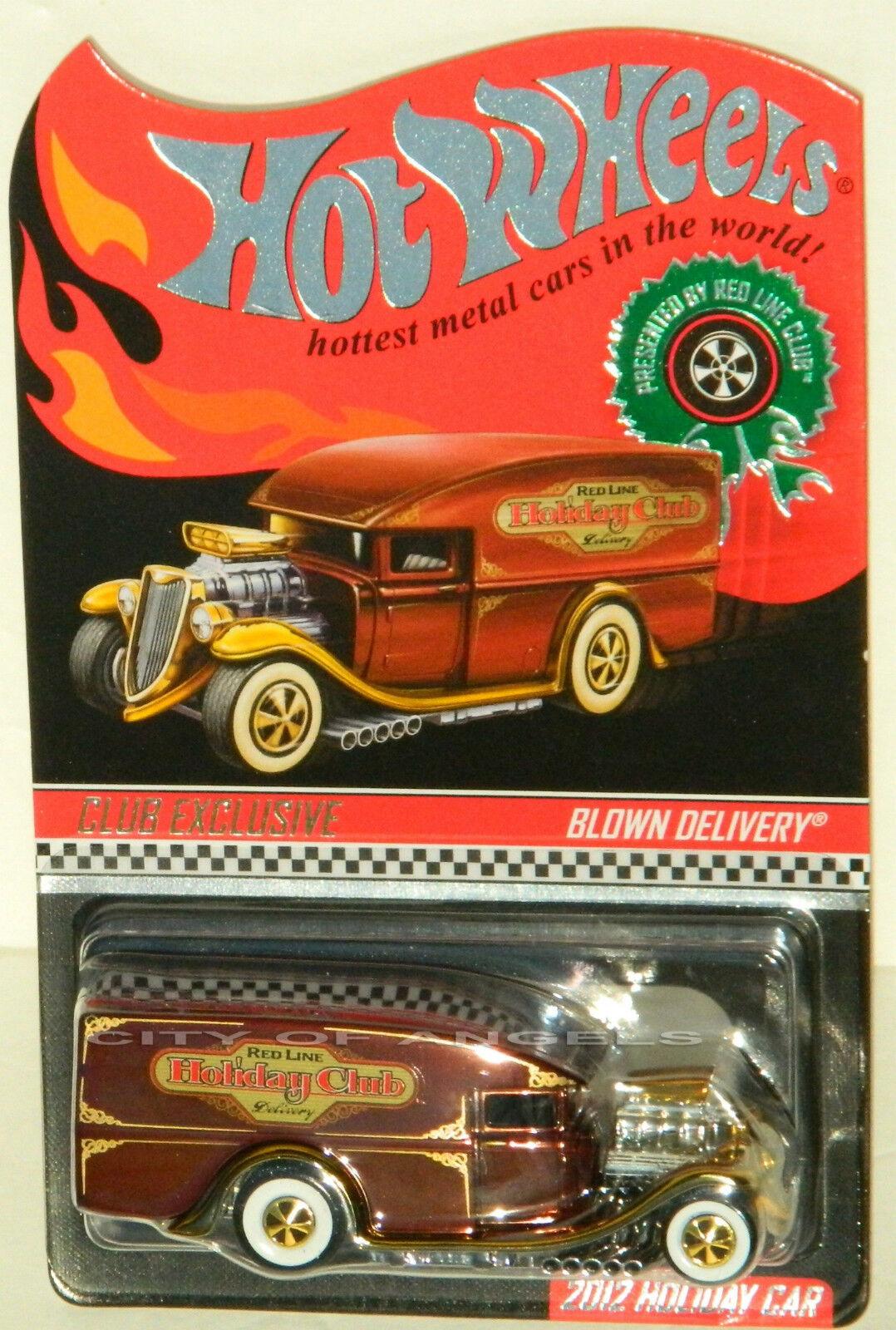 Hot Hot Hot Wheels RLC 2012 Christmas Holiday Blown Delivery Limited 4,000 3ea2db