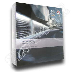 Navteq-Vauxhall-CD-70-Europa-Europe-Software-2015-Opel-Signum-Tigra-Vectra-CD70