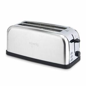 HKoenig-TOS28-Langschlitz-Edelstahl-Toaster-1500W