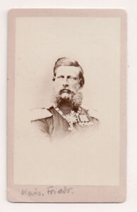 Vintage-CDV-Kaiser-Frederick-III-Emperor-of-Germany-King-of-Prussia
