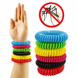 Image Is Loading Us 5pcs Anti Mosquito Bug Insect Repellent Bracelet