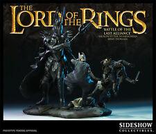 Lord of the rings Sauron vs The Numenorean Army Sideshow Weta NIB.  Hobbit