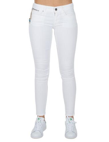 Pantalon w32 Skinny Nouveau Fit w31 Stretch w30 W29 Femmes Slim Blanc Jeans L32 Replay Luz At17nwwq