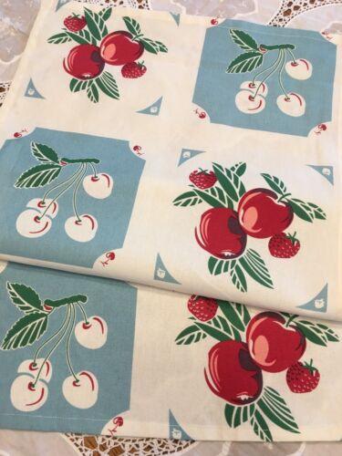 Vintage Style Kitchen Tea Towel MODA Variety Kitchy Retro Farmhouse Flea Market