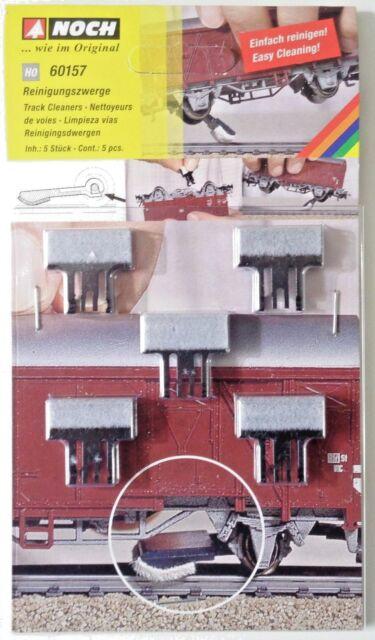 NOCH 60157 H0, Reinigungszwerge für Waggons sämtl. Hersteller, Neu