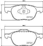 Mintex MDK0239 Brake Discs and Pads Kit
