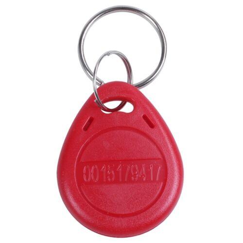 10x 125KHz Controle RFID Clavier Porte carte d/'identification des porte-cle A3G9