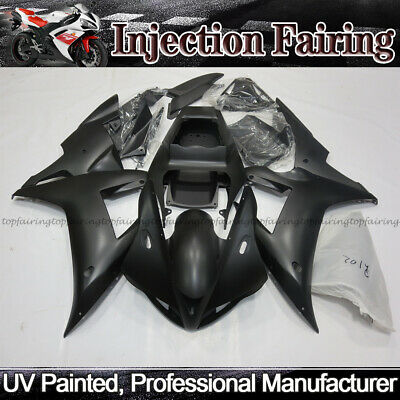 Injection Fairing Kit for Yamaha YZF R1 2002 2003 ABS Plastic Bodywork Silver