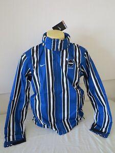 Details about NIKE FOOTBALL CLUB REAL BRISTOL COAT JACKET BLUE WHITE BLACK M 42