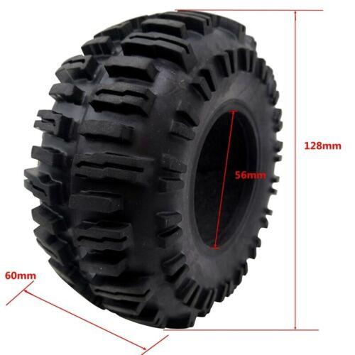 """Rock Crawler 2.2/"""" pneus Soft 128 mm pneu pour Axial Wraith AX10 Jeep Wrangler TRX4"""