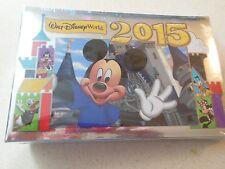 Authentic Walt Disney World 2015 Photo Album - holds 100 4X6 photos - NEW