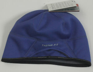 NIKE WOMEN THERMA FIT RUNNING WINTER FLEECE SKULL CAP HAT PONY TAIL ... 44c66175e60