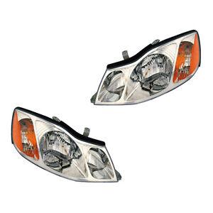 Fits 2000-2004 Toyota Avalon Driver + Passenger Headlight Assembly 1 Pair LH+RH