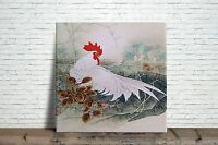 Rooster Oriental Image Decorative Wall Ceramic Tile 4.25 Or 6 Inches 2
