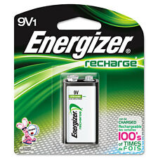 """Energizer e NiMH Rechargeable Battery, 9V, One Battery EVENH22NBP"""