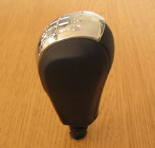 Gear Shift Knob 6 Speed Leather Imitation Skoda Octavia 2 II mk2 2004-2011 RS