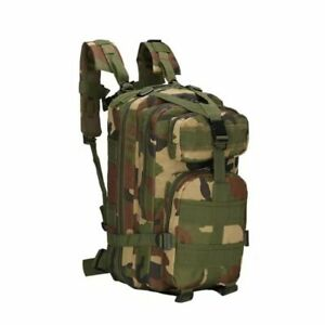 Military Molle Camping Backpack Outdoor Hiking Travel Tactical Bag 28L 7 Colors