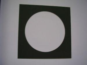 Photo Mat Custom Cut 16 X 16 Mat With 12 Quot Circle Opening