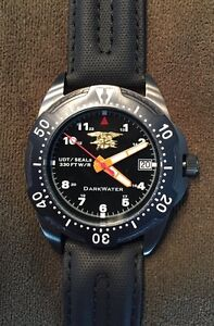 Navy seal udt dive watch ebay - Navy seal dive watch ...