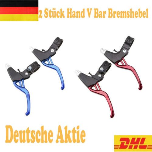 2 Stück Hand V Bar Bremshebel Aluminiumlegierung MTB Fahrrad BMX Rennrad Griff