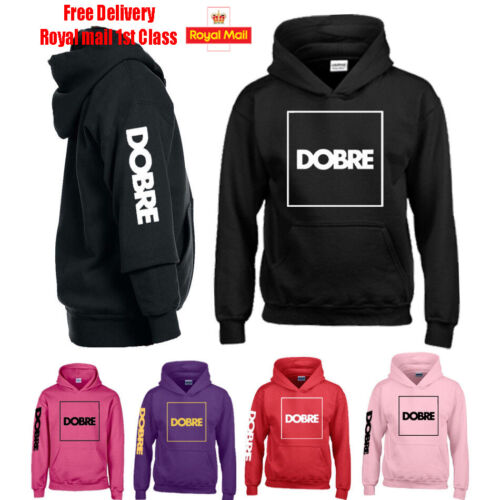 DOBRE Brothers Team Kids GIrls Boys Hoodie Youtube Music Dance DJ.Gift Birthday