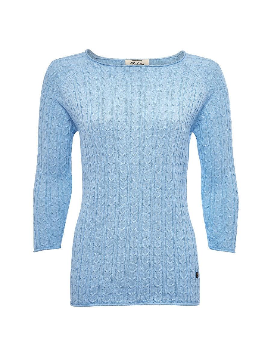 Dubarry ladies Caltra pale bluee jumper size 14