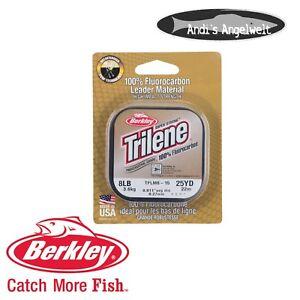 Berkley Trilene Clear Fluorcarbon 25m - verschiedene Stärken - Vorfachmaterial