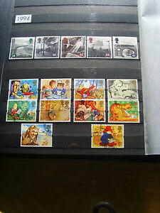 'GB STAMPS - 1994 - COMMEMORATIVE ISSUES' - MNH/USED